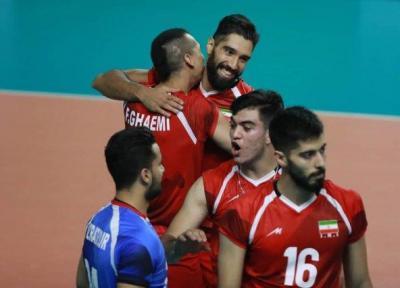والیبال ایران با شکست چین به نیمه نهایی بازیهای آسیایی رسید