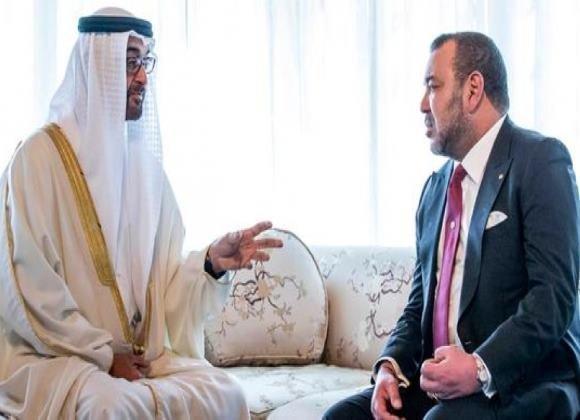 دیدار پادشاه مراکش با ولیعهد ابوظبی