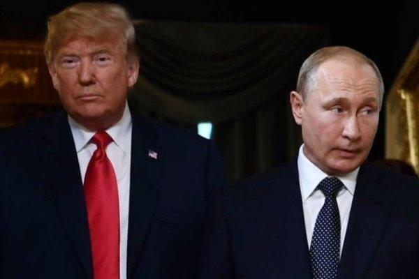 موضع گیری ترامپ به رایزنی تلفنی دیروز خود با پوتین