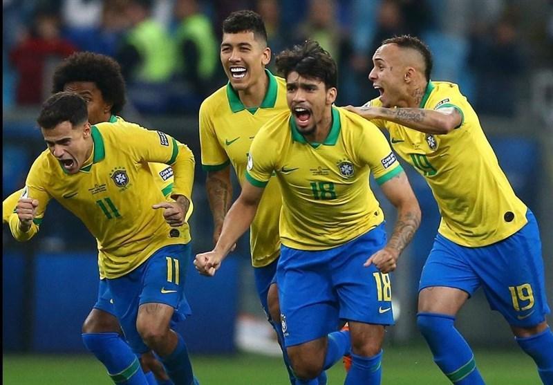 کوپا آمه ریکا 2019، برزیل با حذف پاراگوئه در پنالتی به نیمه نهایی صعود کرد