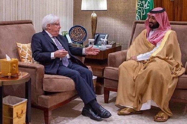 نماینده سازمان ملل در امور یمن با ولیعهد عربستان دیدار کرد