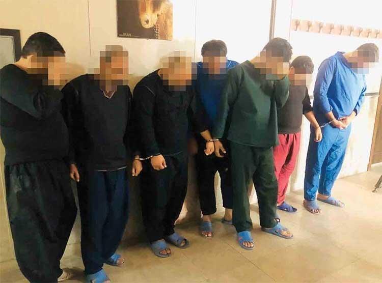 هتلدار ایرانی سردسته باند بین المللی کف زنی