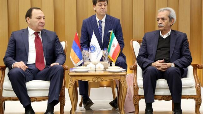 راه اندازی دفتر تجاری ایران و اوراسیا در ارمنستان