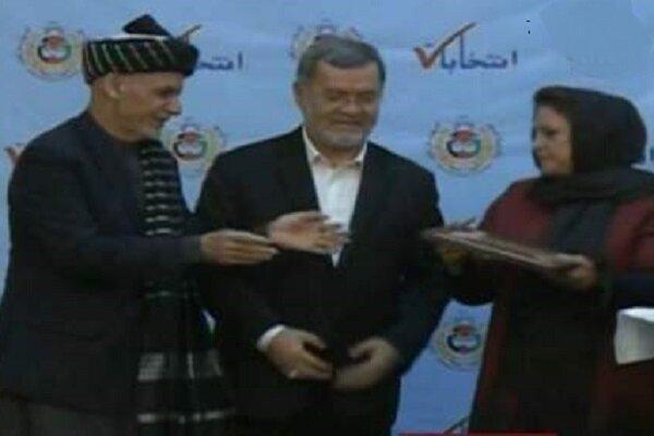اعتبارنامه ریاست جمهوری اشرف غنی صادر شد
