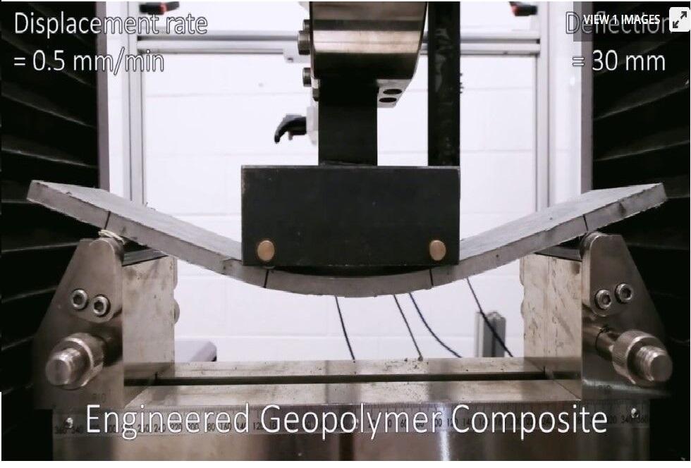 ساخت بتن خم شونده توسط محققان ایرانی